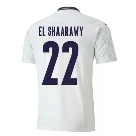 Maillot el-shaarawy 22 Italie 2020-2021 exterieur
