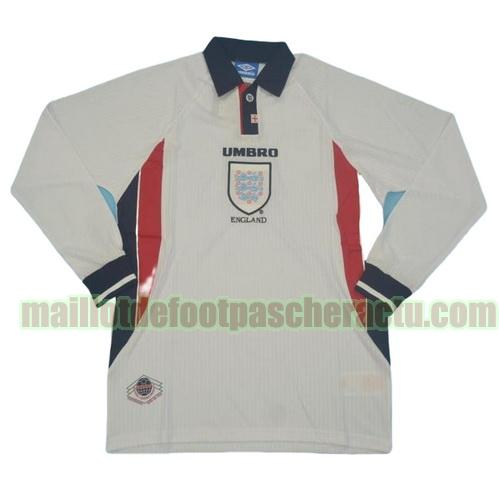 maillot angleterre 1998 domicile homme manches longues