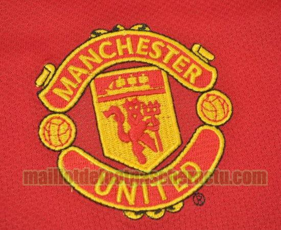 maillot manchester united 2006-2007 domicile homme manches longues