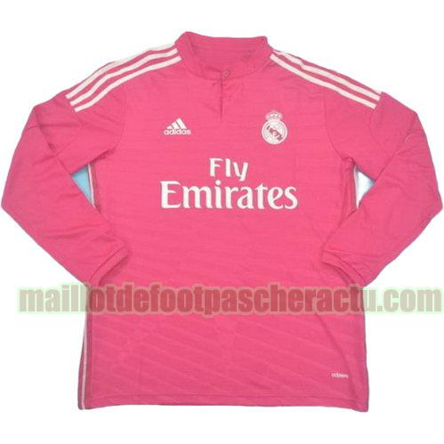 maillot real madrid 2014-2015 troisième homme manches longues