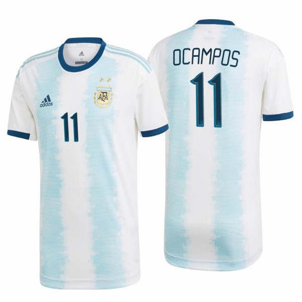 maillot Ocampos 11 argentine 2019-2020 domicile